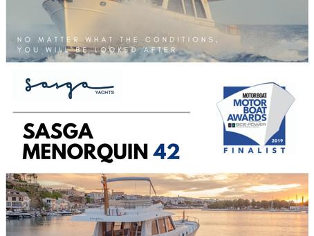 Sasga Menorquin 42 Finalist - Motor Boat Awards
