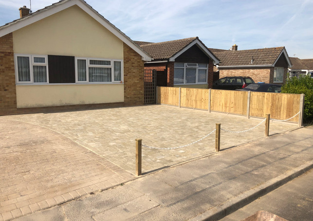 Driveway and Fencing