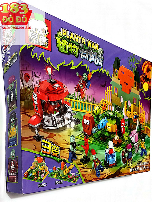 Lego Plants vs Zombies