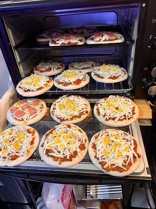 piza phục vụ các ace mùa dịch