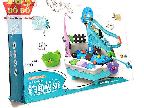 Bộ đồ chơi câu câu cá phát nhạc  3in1