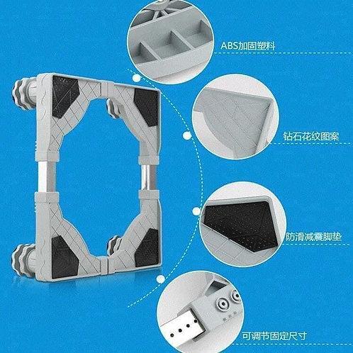 chân kê máy giặt tụ lạnh thay đổi được cả chiều dài và chiều rộng và chiều cao