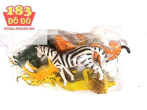 Túi đồ chơi các loài động vật hoang dã