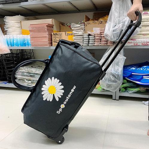 Túi du lịch kéo hình hoa cúc