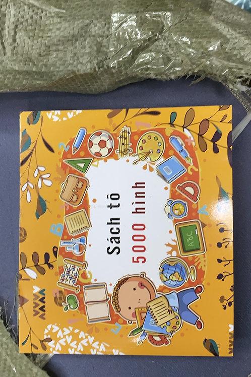 sách tô màu cho bé 5000 hình