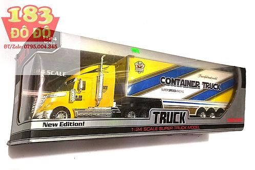 Xe container mô hình