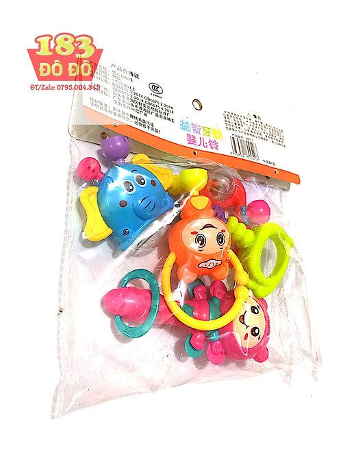 Lục lạc, xúc xắc bộ đồ chơi cho bé