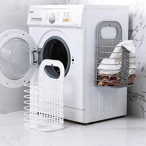 Giỏ treo cạnh máy giặt