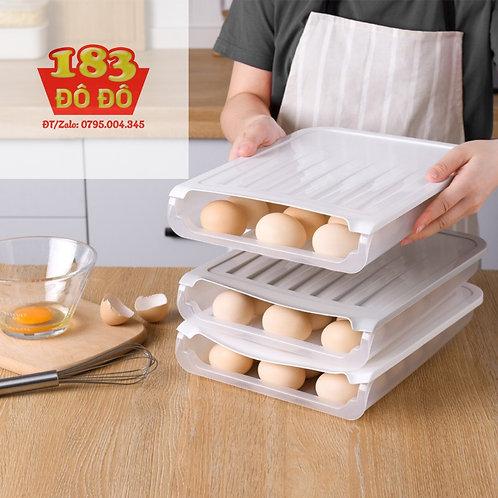 Khay để trứng thông minh tiện lợi 18 ô
