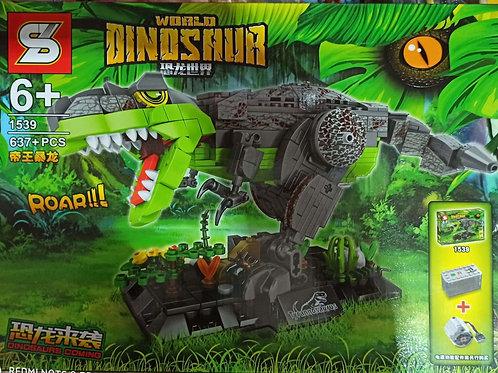 lego khủng long bạo chúa 637 chi tiết