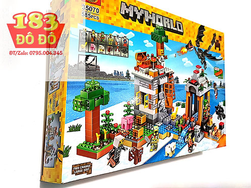 Lego Ninjago Minecraft My World