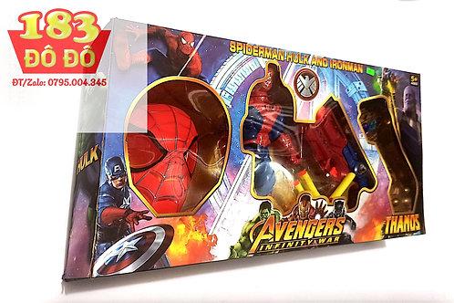 Hộp đồ chơi mặt nạ người nhện