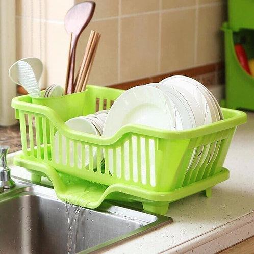 rổ úp bát đĩa có khay đựng nước