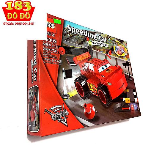 Lắp ráp xếp hình lego city 56009 : Xe Mc Queen 206 chi tiết