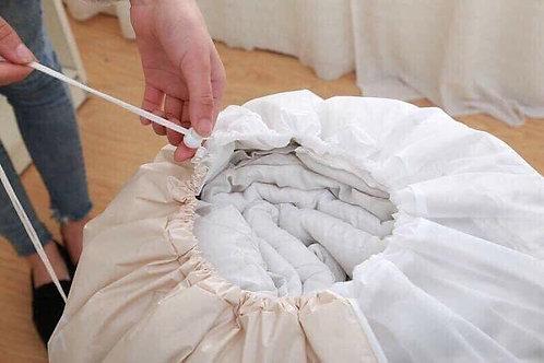 túi đựng chăn ga quần áo dây rút tiện lợi