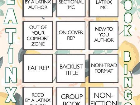 #LatinxBookBingo for Latinx Heritage Month