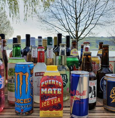 grosse Getränke-Auswahl