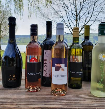 grosse Wein-Auswahl
