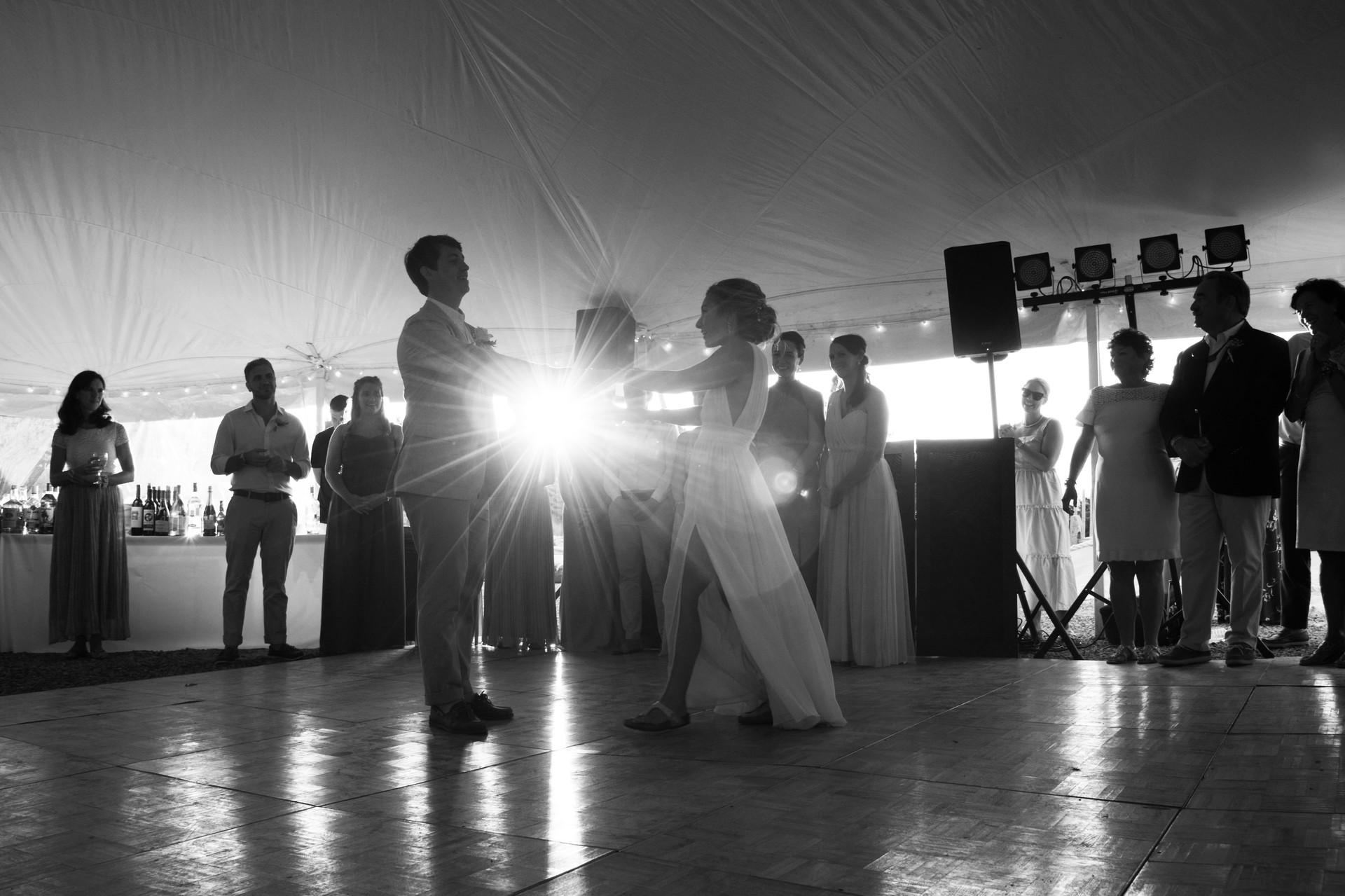 Sesuit Harbor Tent Wedding