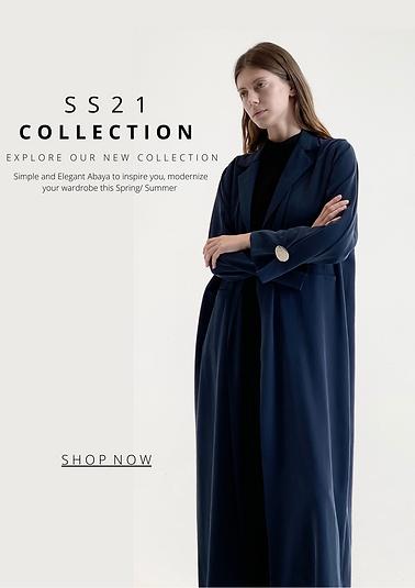 Hessa Falasi Seasion 2021 collection of Abayas