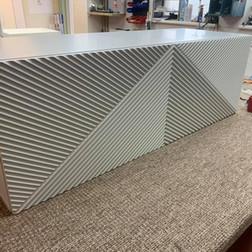 3D frezavimo reljefas, Modernūs filinginiai fasadai, cnc frezavimas