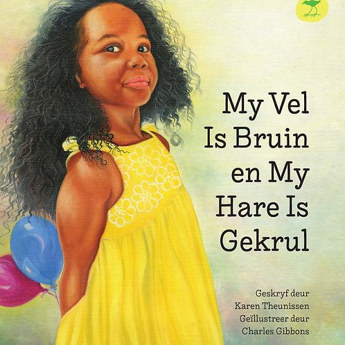 My Vel Is Bruin en My Hare Is Gekrul Afr