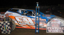 Marlatt Holds Back Crawford To Earn First Street Stock Woodhull 100 Win