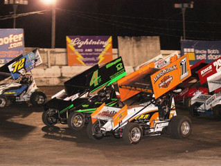 CRSA 305 Sprint Car Saturday, Open Practice Sunday This Week At Woodhull