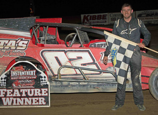 Costa, Peoples Celebrate In Victory Lane After Closest Modified Finishes EVER At Woodhull