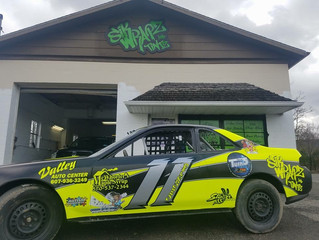 DelGrosso Takes Battered Car To Top 5 At Woodhull