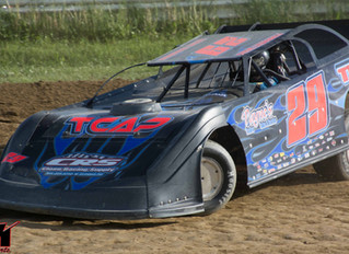 """Crate Late Model """"King of the Bullring"""" Saturday At Woodhull"""