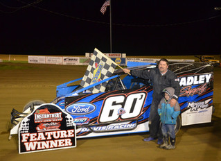 Davis Rides Blue Oval To Victory At Woodhull Bullring