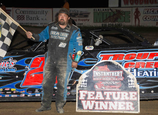 Steve LeBarron Holds Back Jason Knowles To Win First Of 2020 At Woodhull On Pepsi Night