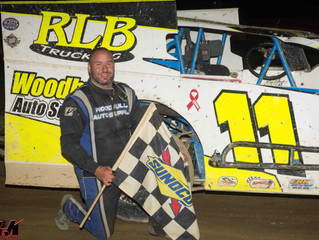 Lawson Dominates Woodhull Modifieds During Independence Day Races