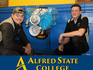 Alfred State College Motorsports Technology Program Partners To Support Woodhull Racers Aug. 11