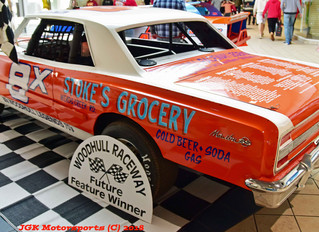 Les Smith's 'Tribute To Woodhull Legends' Wins 2018 Turn 5 Media 'Best In Show' Award