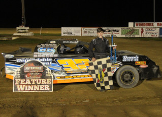 Carter Crooker Cruises To 10-Win Woodhull Warriors Championship