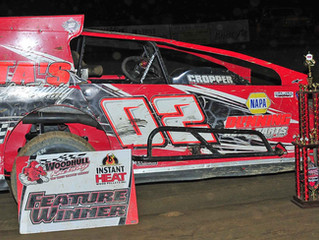 Cory Costa Hurts Motor, Holds On For Bullring Challenge Victory