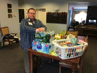 Woodhull Raceway Collects Supplies To Help Sayre, PA House of Hope