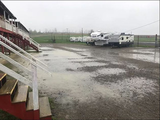 Woodhull Raceway Loses Race Program To Impending Heavy Rains