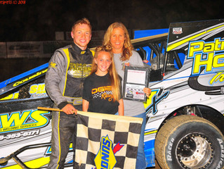 Groover Holds Off Dgien For Woodhull Modified Victory