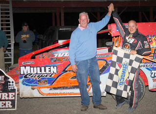 Billy Van Pelt Wins Record 22nd Woodhull Modified Title With Win