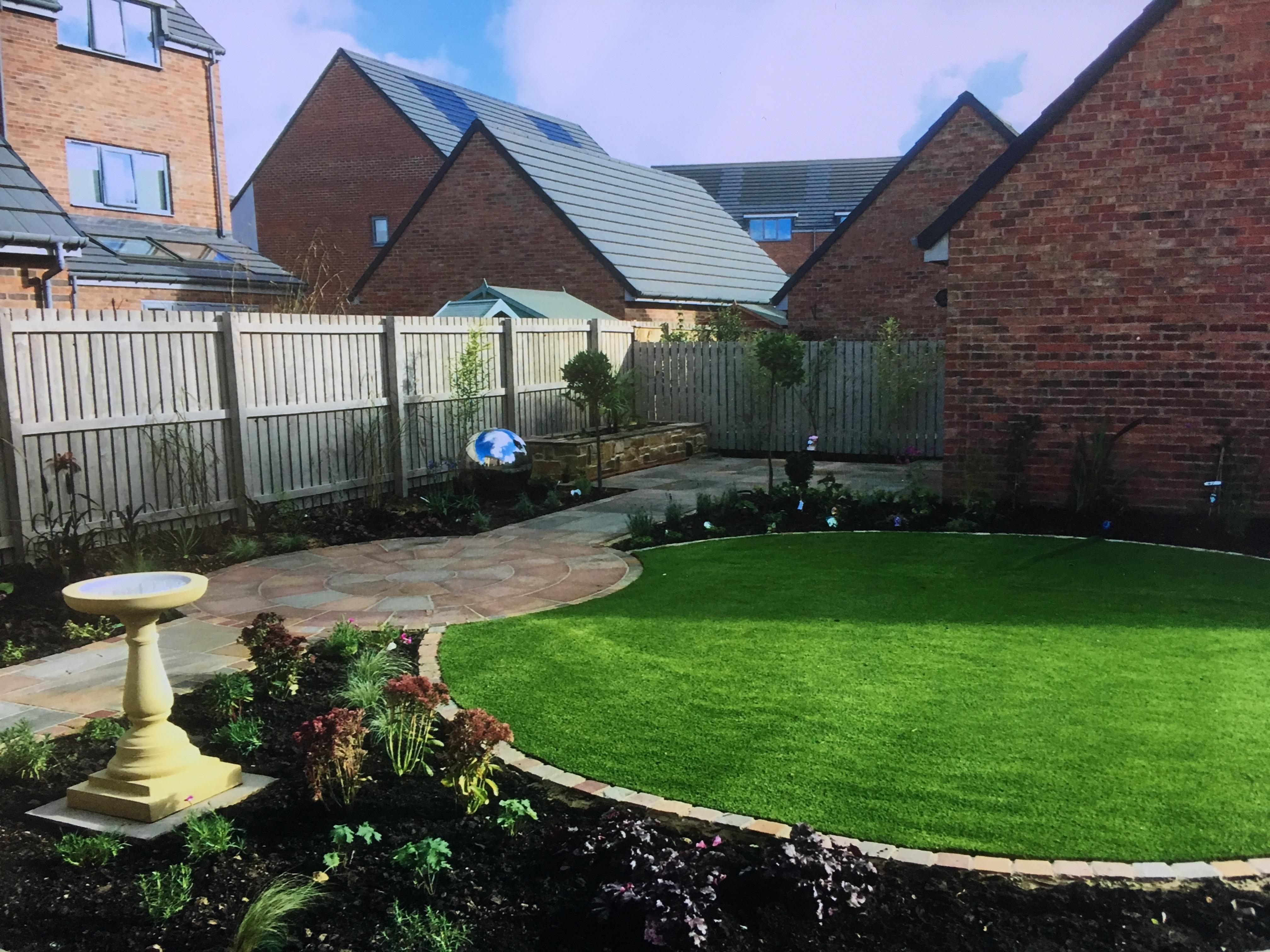 Wheelchair friendly garden