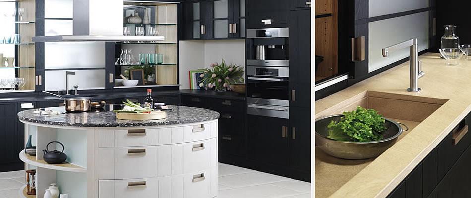 modern styled kitchens