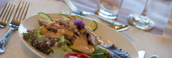 Fine Dining at Gallanach Lodge on the Is