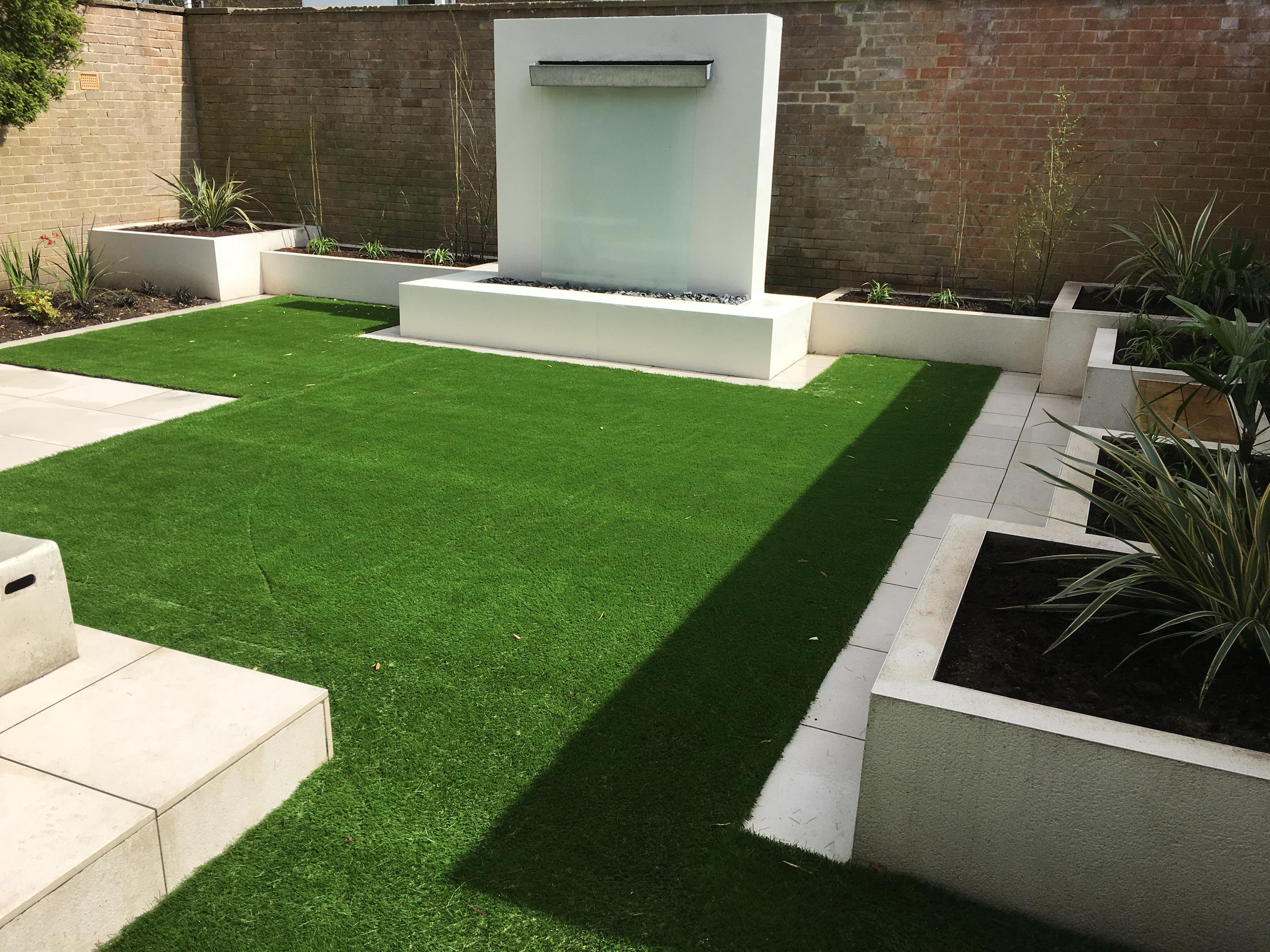 Contemporary garden design Newcastle upo