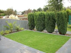 Sloping garden design Newcastle upon Tyn