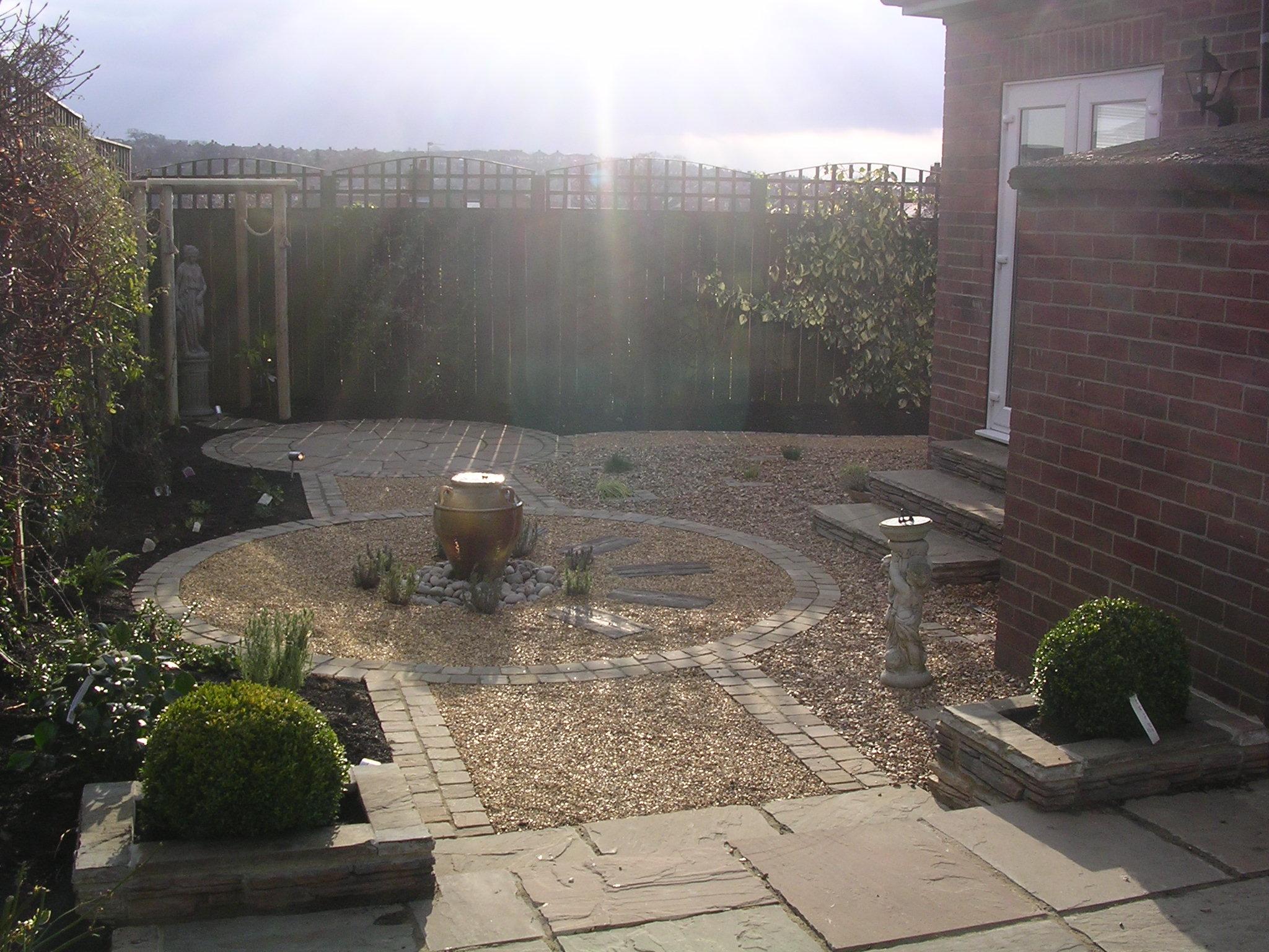 Small garden wheelchair friendly