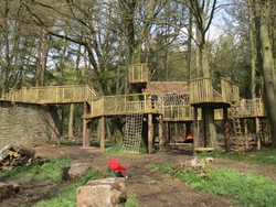 country estate gardens - elaborate treeh