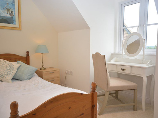 Single bedroom at The Mill House at Mear
